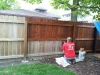 Fences Cleaned and Sealed